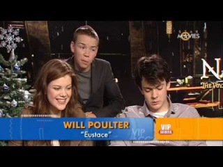 STAR Movies VIP Access: Chronicles of Narnia - Georgie Henley, Skandar Keynes & Will Poulter