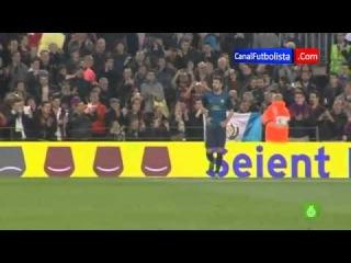 Estrategia perfecta para pedir la camiseta de Gerard Piqué   Barcelona 3 Rayo 1 17-03-2013