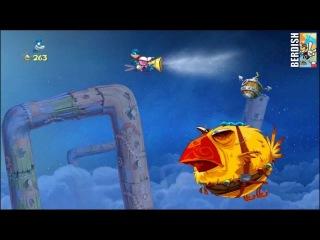 Rayman Origins Прохождение. Глваа 1 Часть 7 [Босс]