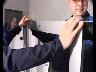 Видео Инструкция по монтажу душевой кабины Часть 2