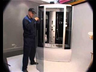 Видео Инструкция по монтажу душевой кабины Часть 3