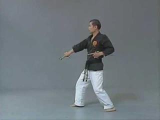 Ni-Cho Zai - Kata with 2 Sais plus Bunkai (analysis)