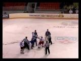 Белоруский хоккей. драка за место в сборной двух воротчиков Шелепнев VS Бородуля