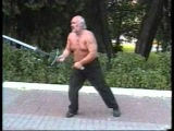 Меч двуручный / топор / палаш. Наш мужик с мечём против HAARP и НАТО )))))