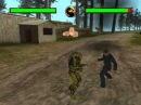 GTA SA Mortal Kombat Conquest -- demo gameplay: Sub-Zero, Cyrax and Reptile