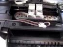 Удобная установка СНПЧ CANON mp280 слева, шлейф через верх