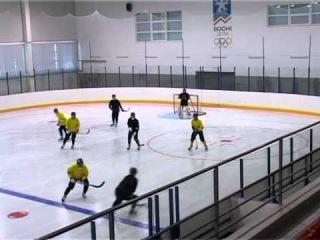 Тренировка ХК Волга в ФОК Лидер