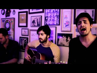 Young the Giant - Cough Syrup (live acoustic on Big Ugly Yellow Couch)