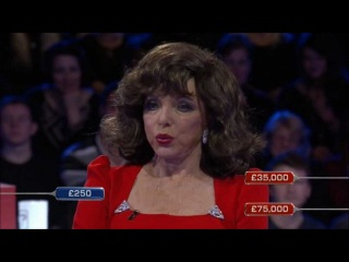 Glynis Barber & Michael Brandon open boxes for Joan Collins