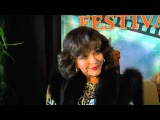 Joan Collins Visits Sedona International Film Festival