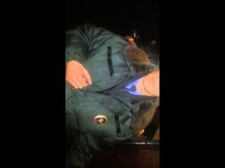 Полицейскии г.Балашиха боится показывать служебное удостоверение!)))