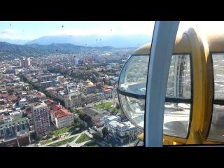 Ferris Wheel on Skyscraper