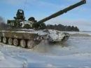 АССЫ на танках т-80 вождение(в\ч 47866?ا王牌坦克上驾驶