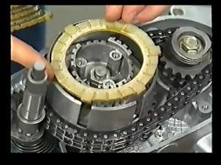 MZ ETZ - Repair Engine EM 125 & EM 150. Service film 1990