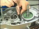 MZ ETZ 251 montaż i demontaż silnika part 5
