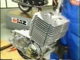 MZ ETZ 251 montaż i demontaż silnika part 1