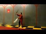 Односторонний перехват-переброс мечей.