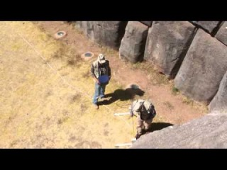 Георадарное исследование Саксайуамана. Перу.