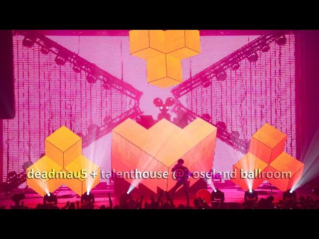 Deadmau5 talenthouse @ roseland ballroom (EXTENDED)