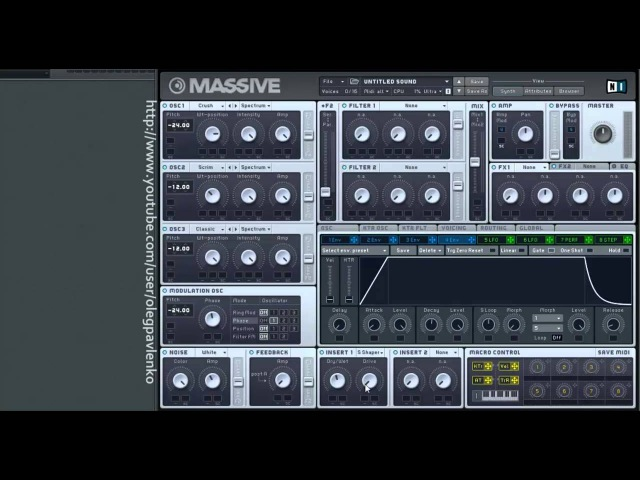 How to make- Complextro bass | Hard electro bass | Dub step bass | by OLEGTRO