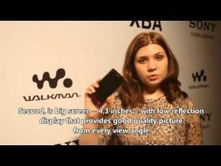 Презентация WALKMAN® NWZ-Z1000 и наушников серии XBA