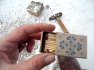Как сделать простенькую питарду из спичек и дюпеля.avi