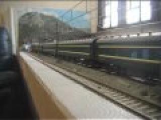 Chinese model train