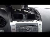 Установка Yatour (снятие магнитолы) - Mazda 6 2009, 2010, 2011, 2012 install of iPhone, iPod and iPad adapter