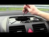Установка yatour (снятие магнитолы) - Volkswagen Jetta 2006-2010 install of iPhone, iPod, iPad and AUX adapter