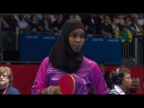 Table Tennis Womens Singles Preliminary Round - Brazil v Djibouti Full - London 2012 Olympic Games