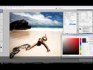 Bigbad.ru - работа с экшенами в фотошопе