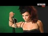 REVOLVER TV: Maria Kanellis behind the scenes
