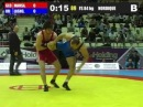 Ehsan Lashgari (Iran) vs Dato Marsagishvili (Georgia) 84kg 2012 Freestyle World Cup