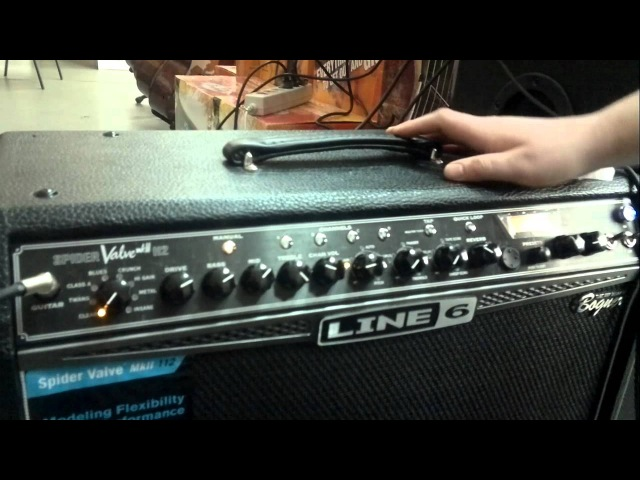 Ibanez TBX 150H Line 6 spider tube(by Bogner) rus review part 2