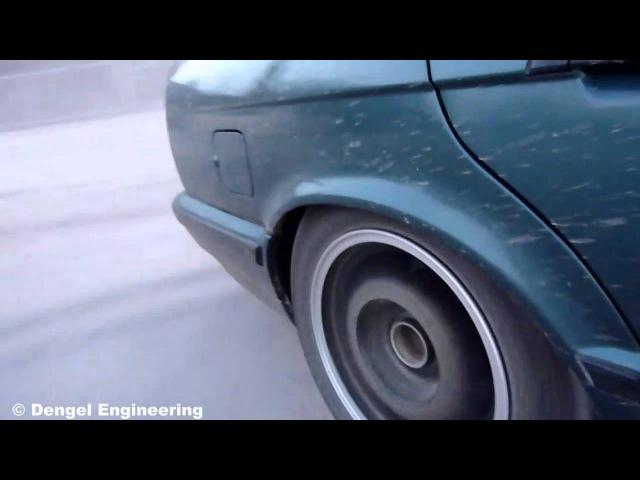 Drift BMW 525 E34 Dengel Engineering (Part 1)
