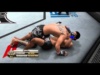 UFC Undisputed 3 - Inside the Octagon (The Ground Game) - FULL GAMEPLAY MATCH