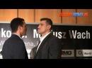 Face to Face - Mariusz Wach vs Władimir Kliczko (29.08.12)
