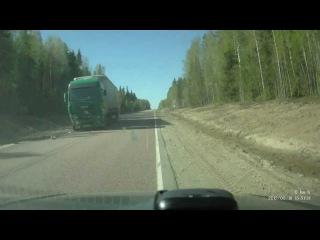 Лобовое столкновение 901 километр Архангельск-Москва