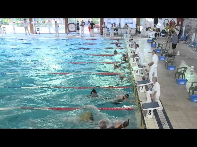24th European Finswimming Championship Lignano Sabbiadoro nuoto pinnato 100 sf m