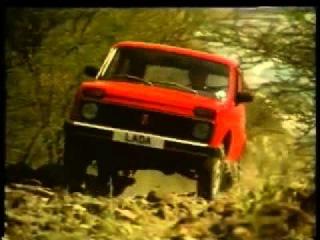 Реклама советского автопрома в Великобритании 1980 г.