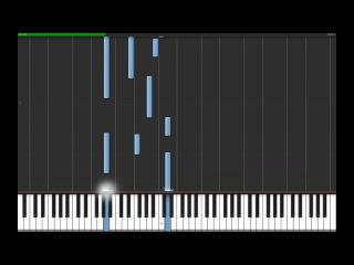Видео урок игры на фортепиано
