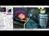 SAI Speedpainting - Bender and Alice