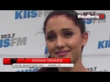 Ariana Grande arrives at KIIS FM Wango Tango concert!