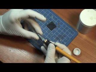 Видео обучение Сборка и грунтовка пластиковой модели для новичков Часть 1