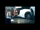 Ferrari 458 and HOT Bikini Model
