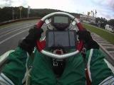 Marcel Lipp Kart Onboard mit Galaxy Tab