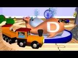 Wooden Alphabet Train: ABC Train for Children