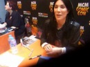 Jaime Murray at Birmingham MCM Expo 2013