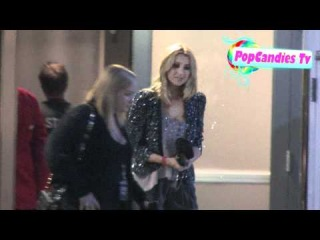 Stephanie Pratt leaving 2011 KIIS FM's Jingle Ball in Los Angeles!