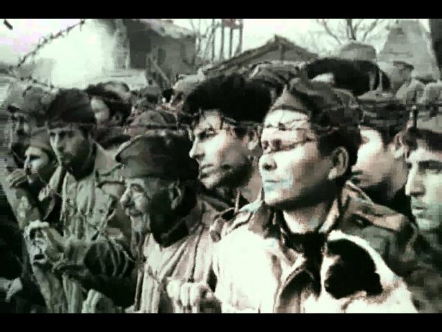 Фрагмент из фильма Похититель персиков/Крадецът на праскови (Болгария, 1964). Сербские и фр. военнопленные в болгарском плену(ПМ